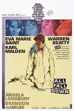 All Fall Down, from Top: Eva Marie Saint, Warren Beatty, 1962
