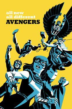 All-New, All-Different Avengers No.5 Cover, Featuring Falcon Cap and More