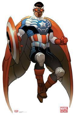 All New Captain America - Marvel Now Lifesize Cardboard Cutout