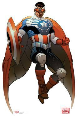 All New Captain America - Marvel Now Lifesize Standup