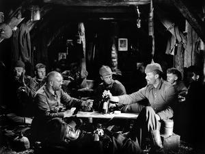 """""""All quiet on the western front"""" by Lewis Milestone Louis Volheim and Lew Ayers, 1930 (b/w photo)"""