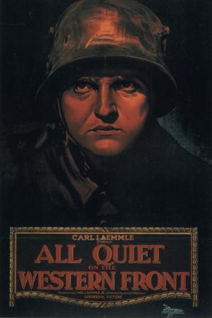 All Quiet on the Western Front Movie Louis Wolheim Lew Ayres Plastic Sign