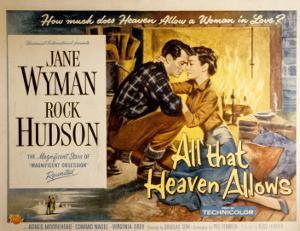 All That Heaven Allows, Rock Hudson Jane Wyman, 1955