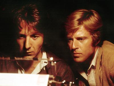 All The President's Men, Robert Redford, Dustin Hoffman, 1976