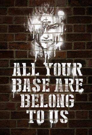 All Your Base Graffiti