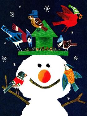 Snowman and Friends - Jack and Jill, January 1980 by Allan Eitzen