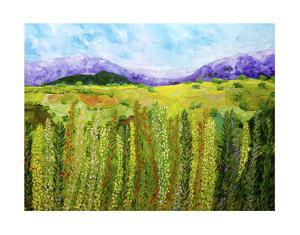 Flower Hedge by Allan Friedlander