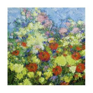 Garden Shower by Allan Friedlander