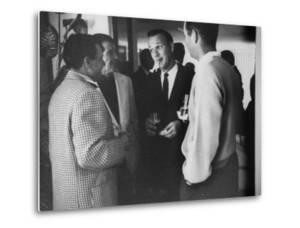 Golf Pro Arnold Palmer at a Party During the Palm Springs Golf Classic by Allan Grant