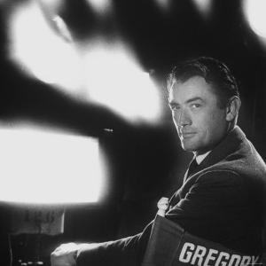 Portrait of Actor Gregory Peck by Allan Grant