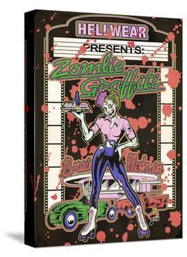 Zombie Graffiti by Allan Graves