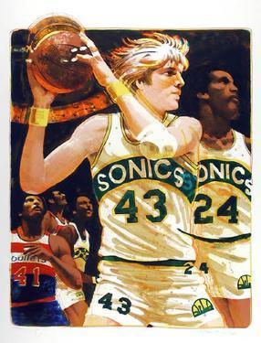 NBA by Allan Mardon