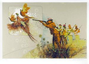Pheasant Hunt by Allan Mardon