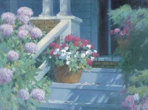 Front Steps by Allan Myndzak