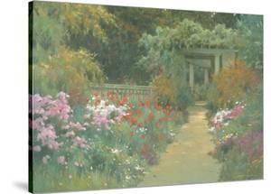 Italian Garden by Allan Myndzak