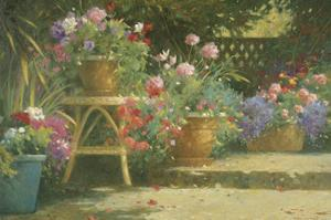 Potted Flowers by Allan Myndzak