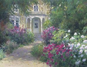 Sunlit Doorway by Allan Myndzak