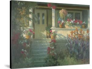 Sunlit Porch by Allan Myndzak