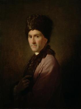 Jean-Jacques Rousseau, 1766 by Allan Ramsay