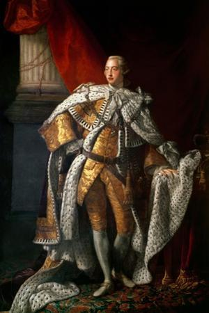 King George III (1738-1820) C.1762-64 by Allan Ramsay