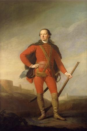 Portrait of Charles, 5th Earl of Elgin and 9th Earl of Kincardine, Standing Full Length in a…