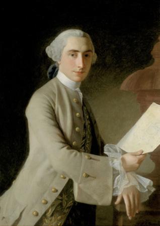 Portrait of James Adam, 1754