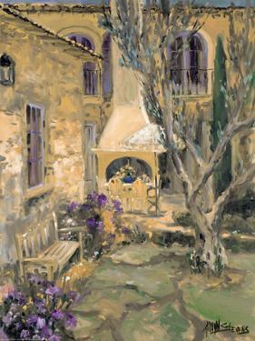 Peaceful Patio by Allayn Stevens