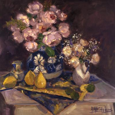 Pink Roses and Pears