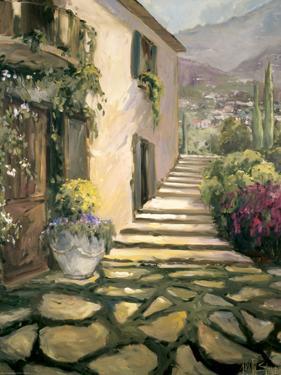 Sunlit Villa II by Allayn Stevens