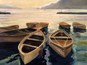 Sunset Marina by Allayn Stevens