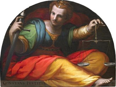 Allegory of Justice, 1582-1585