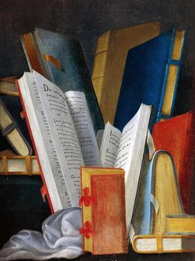 Allegory of Literature and Reading, Panel Painted by Jean Mosnier