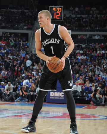 Brooklyn Nets v Detroit Pistons by Allen Einstein