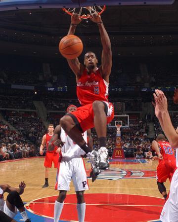 Los Angeles Clippers v Detroit Pistons: DeAndre Jordan by Allen Einstein