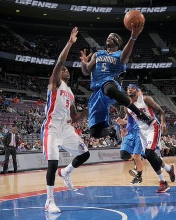 Orlando Magic v Detroit Pistons by Allen Einstein