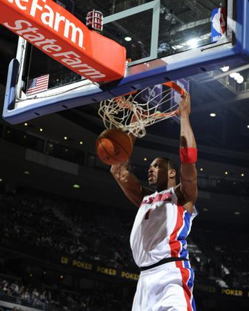 Toronto Raptors v Detroit Pistons: Tracy McGrady by Allen Einstein