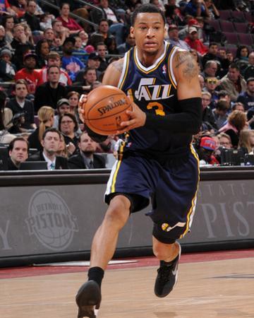 Utah Jazz v Detroit Pistons by Allen Einstein