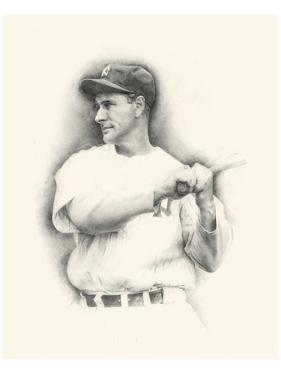 Lou Gehrig by Allen Friedlander