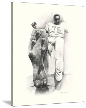 Lou Groza by Allen Friedlander