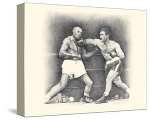 Rocky Marciano by Allen Friedlander