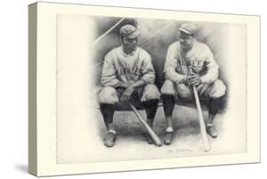 Ruth and Gehrig by Allen Friedlander