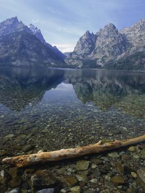 Jenny Lake, Grand Teton National Park, WY by Allen Russell