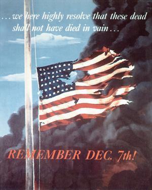Remember Dec. 7th! 1942 by Allen Saalburg