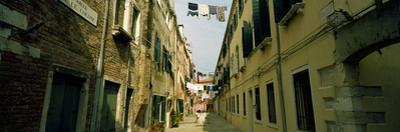 Alleyway with Hanging Laundry, Castello, Venice, Veneto, Italy