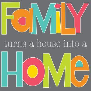 Family Makes a Home by Alli Rogosich