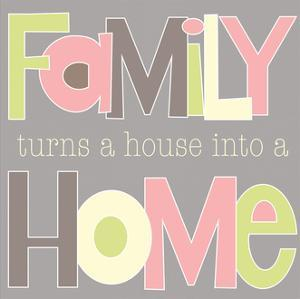Family Turns a House by Alli Rogosich