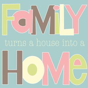 Family Turns into a House II by Alli Rogosich