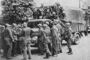 Allies Go To Belgiums Aid, 1940, (1940)