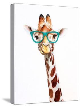 Hipster Giraffe by Allison Gray