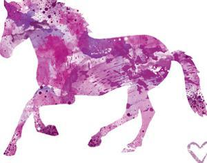 Horse Silhouette by Allison Gray